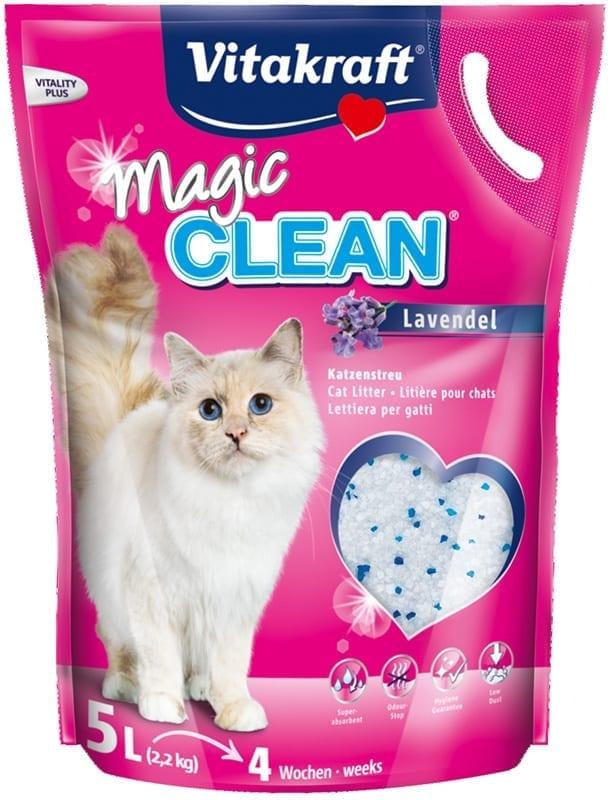 Magic Clean kattenbakvulling lavendel