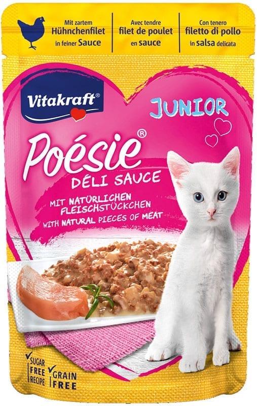 Vitakraft Poésie Déli Sauce kip Junior