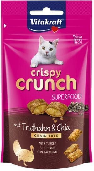 Crispy Crunch Superfood dinde et graines de chia