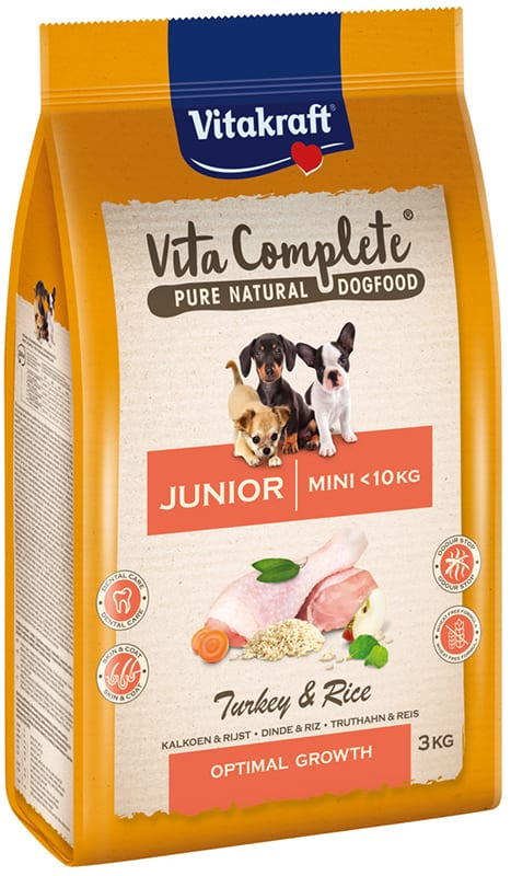 Vita Complete® Pure Natural Dogfood MINI JUNIOR 3 kg