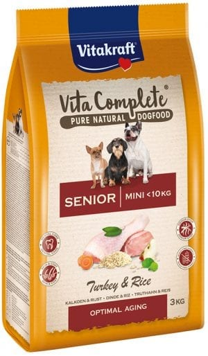 Vita Complete® Pure Natural Dogfood MINI SENIOR 3 kg