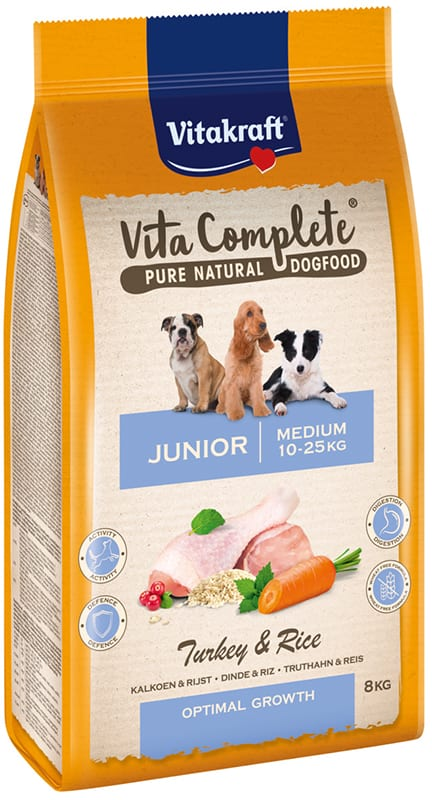 Vita Complete® Pure Natural Dogfood MEDIUM JUNIOR 8 kg