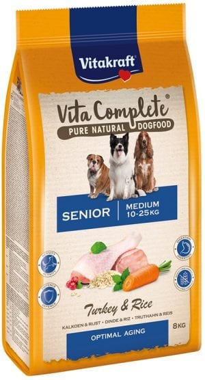 Vita Complete® Pure Natural Dogfood MEDIUM SENIOR 8 kg