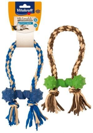 Vita Complete® Play with Nature Activity Rope / Activity touw met klein bot
