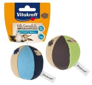 Vita Complete® Play with Nature Activity Ball / Kleine canvas bal