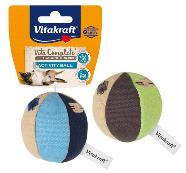 Vita Complete® Play with Nature Activity Ball / Petite balle canevas