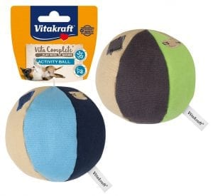 Vita Complete® Play with Nature Activity Ball / Grote canvas bal