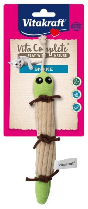 Vita Complete® Play with Nature Snake/ slang met catnip