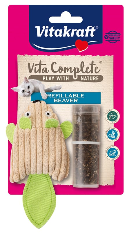 Vita Complete® Play with Nature Refillable Beaver/ Hervulbare bever