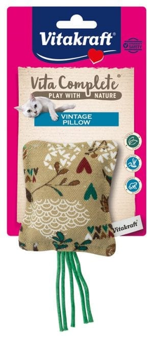 Vita Complete® Play with Nature Vintage Pillow/ canvas kussen